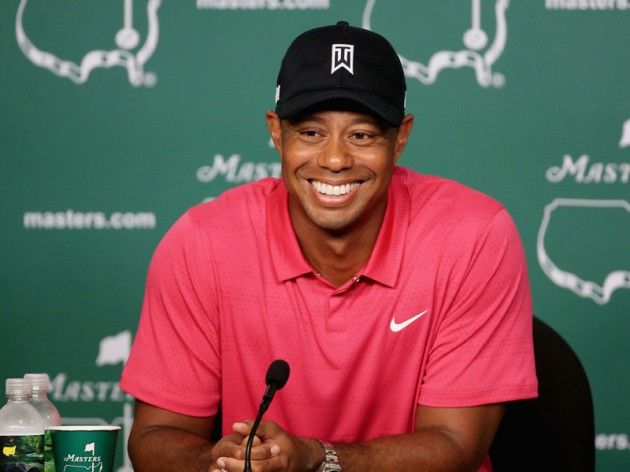 Tiger Woods: Happy to be here