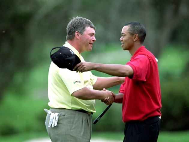 Tiger had to concede that Clarke was the better man on the day