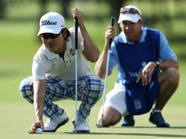 Kevin Na plays slow