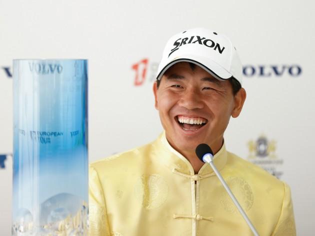 Wu Ashun wins the Volvo China Open in Shanghai