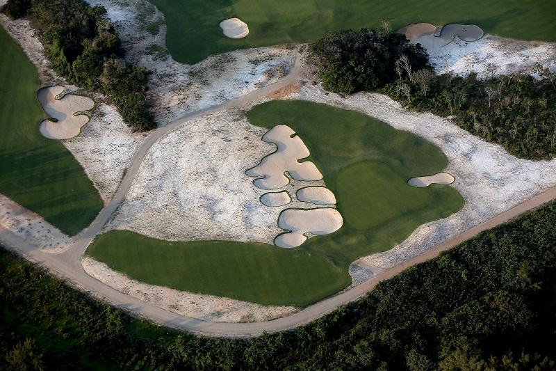 The Reserva Marapendi Golf Course in Rio. Credit: Matthew Stockman (Getty)