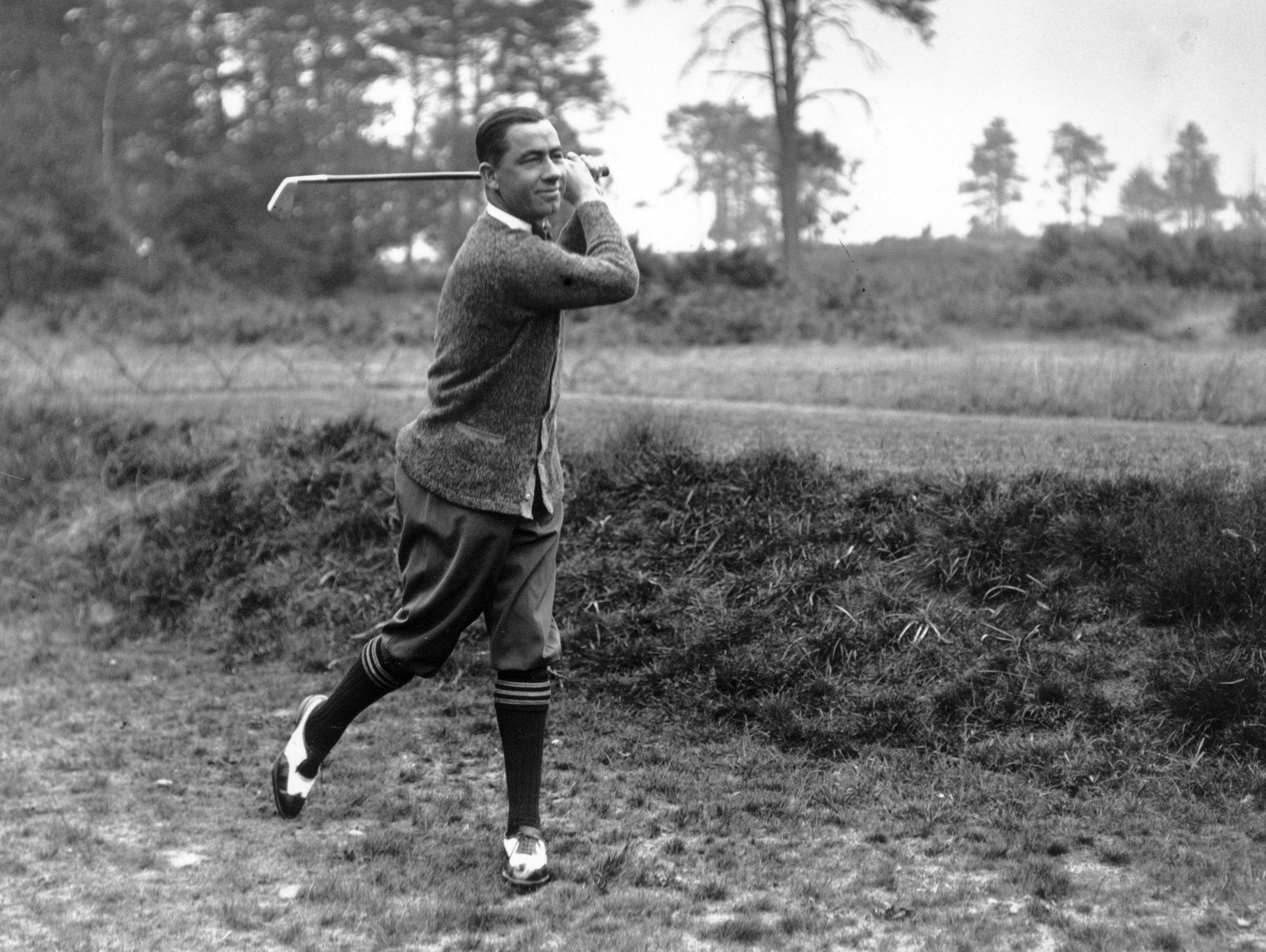 Walter Hagen At The Uspga Championship Golf Monthly