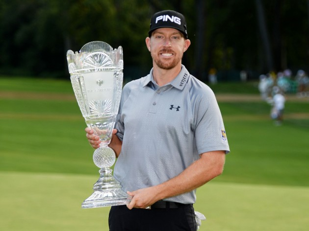 Hunter Mahan defends The Barclays