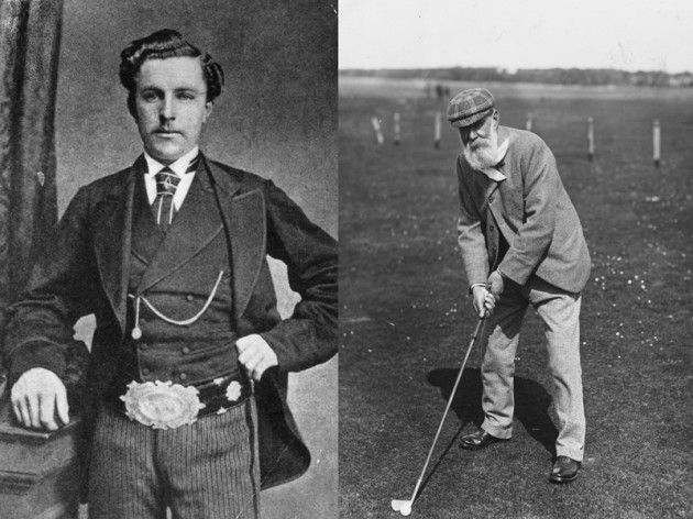 Old and Young Tom Morris