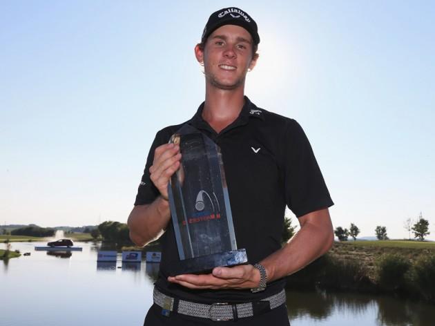 Thomas Pieters wins Czech Masters