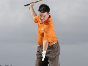 over the top golf swing drill