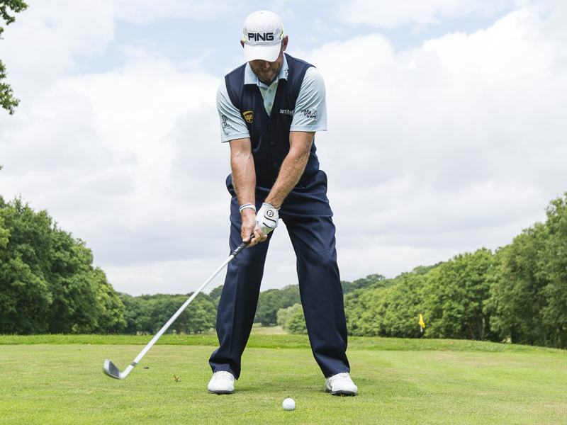 Lee Westwood Stance And Ball Position Tips Golf Monthly