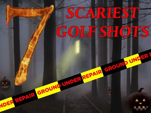 Scariest shots in golf