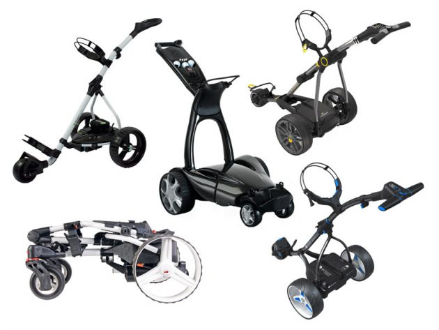 Best electric golf trolleys 2017
