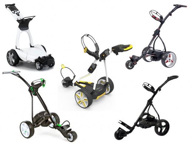 Best electric golf trolleys 2016