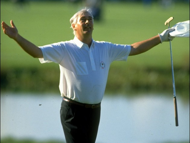 Christy O'Connor Jnr at the Belfry in 1989