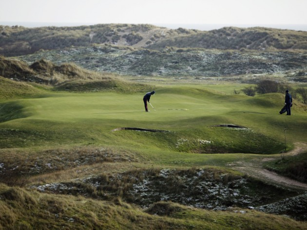 The joys of winter golf