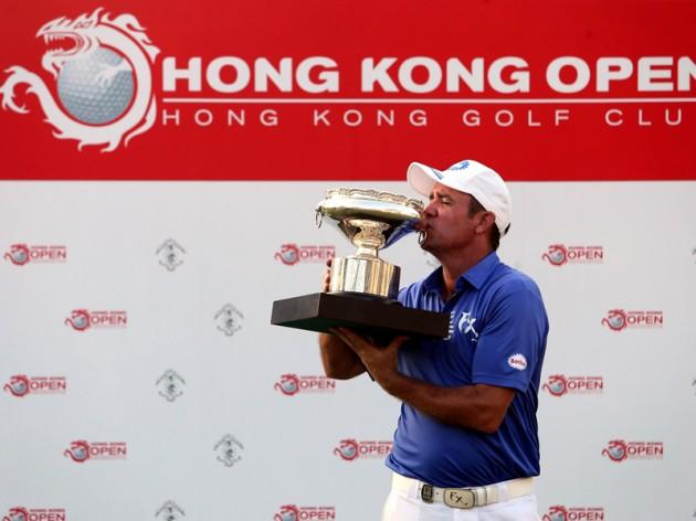 Scott Hend defends the Hong Kong Open