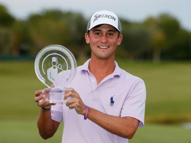 Smylie Kaufman wins Shriners Open