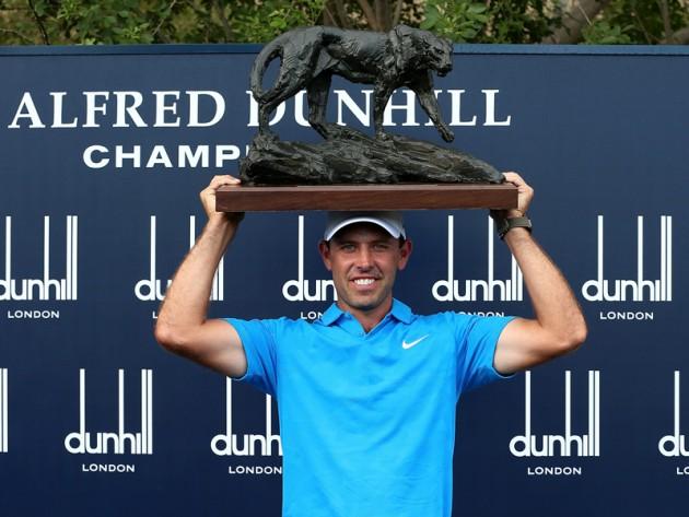 Charl Schwartzel won a fourth Alfred Dunhill Championship