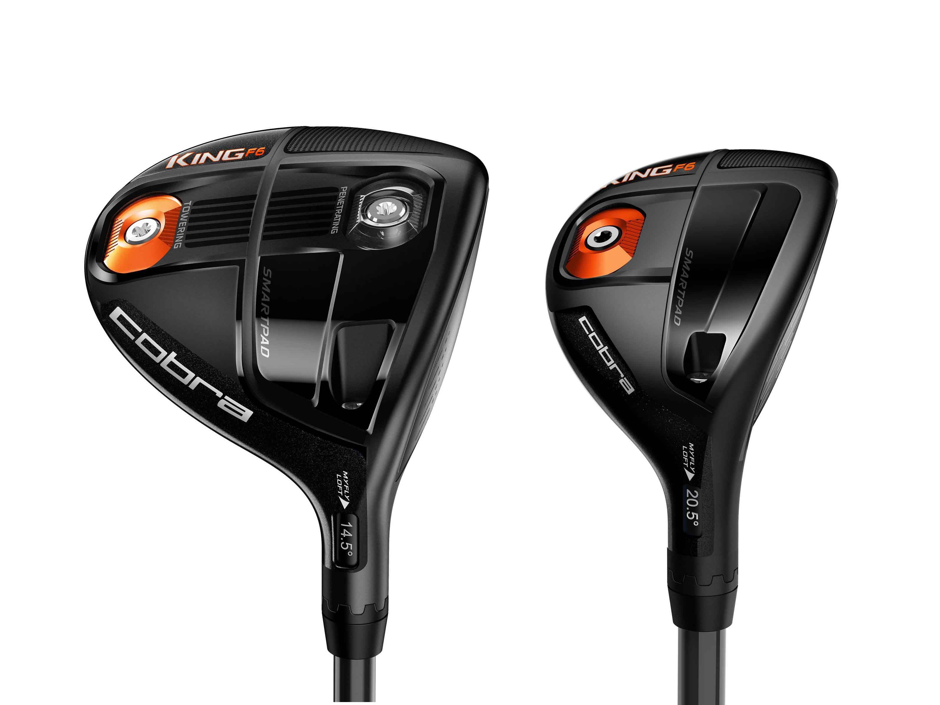 Cobra King F6 Woods Unveiled