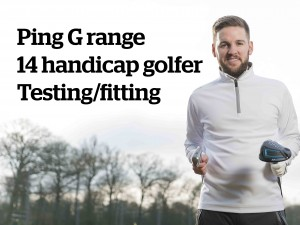 Handicap 14 Ping G range club fitting