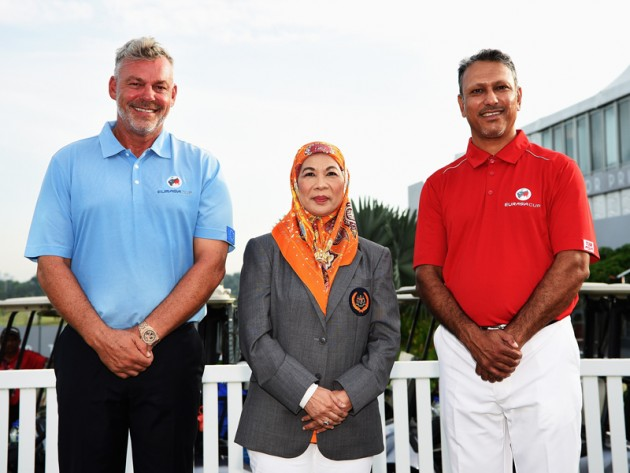2016 EurAsia Cup captains