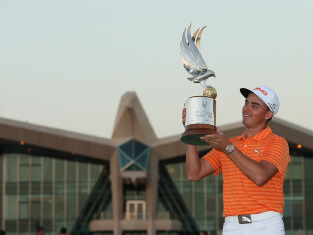 Rickie Fowler wins in Abu Dhabi