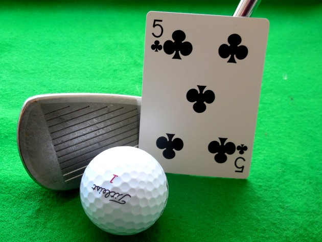 Five of Clubs golf game