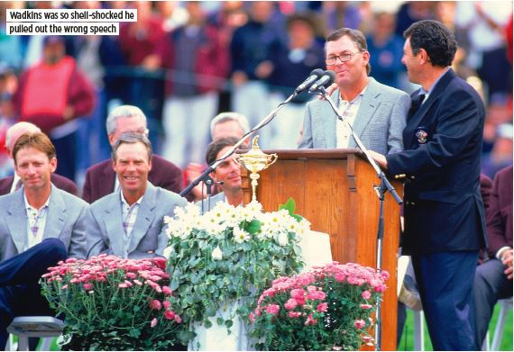 Europes 1995 Ryder Cup Victory Expect The Unexpected