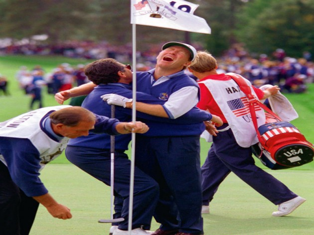 Europe's 1995 Ryder Cup victory