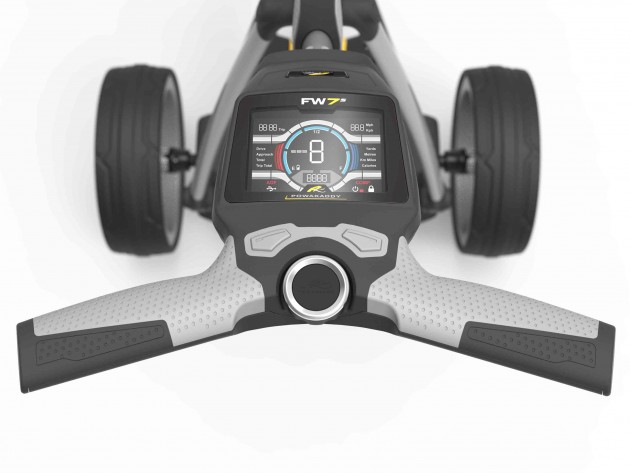 PowaKaddy FW7s electric trolley review - Golf Monthly