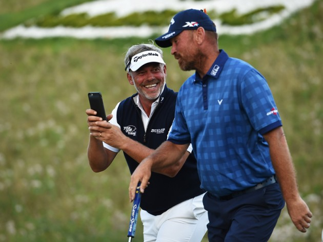 Darren Clarke and Thomas Bjorn