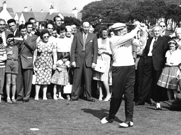 President Eisenhower and Augusta National starts in 1948, five years before he became president