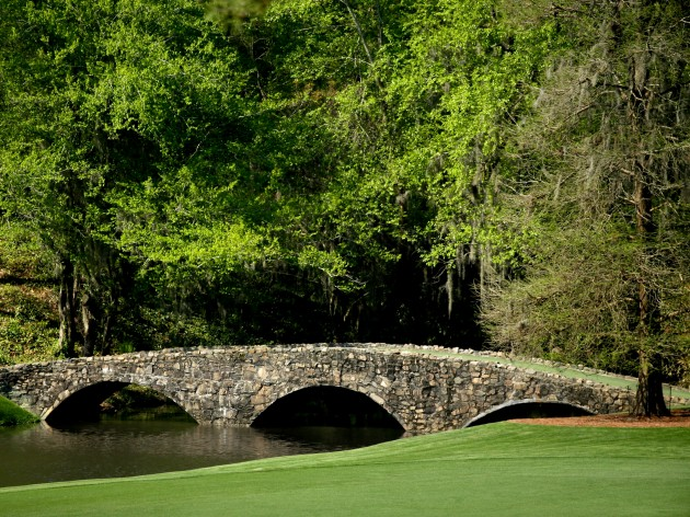 The Nelson Bridge at Augusta National