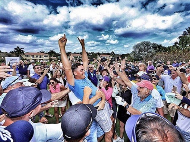 Rickie Fowler hole-in-one