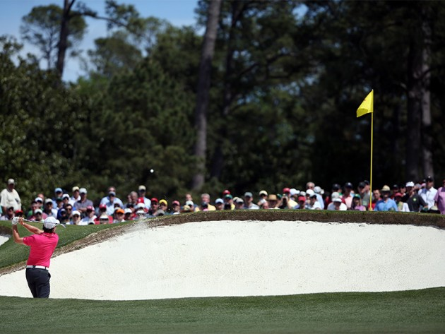 Why Are The Augusta National Bunkers White?