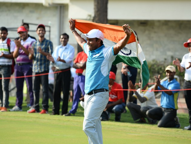 SSP Chawrasia wins Hero Indian Open