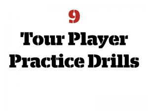Practice Golf Drills