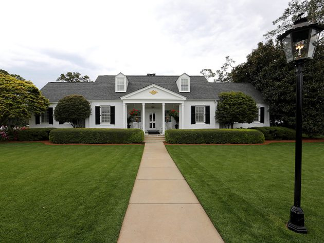 The Eisenhower Cabin At Augusta National Golf Monthly