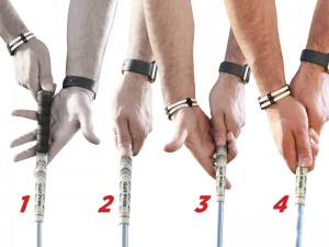 Step by step guide to the perfect golf grip