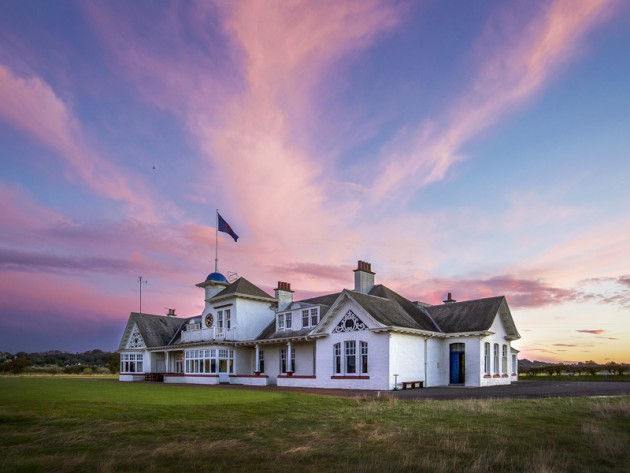 Panmure's striking clubhouse