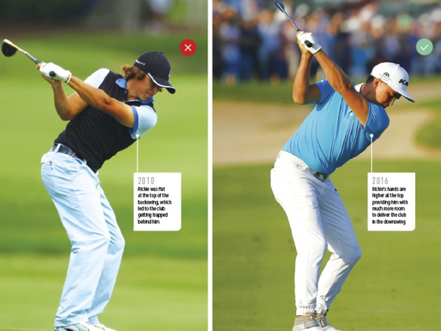 Rickie Fowler golf swing tips