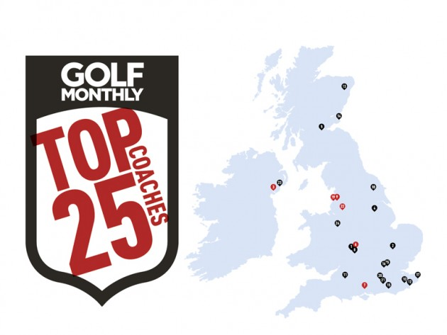 New Golf Monthly Top 25 Coaches