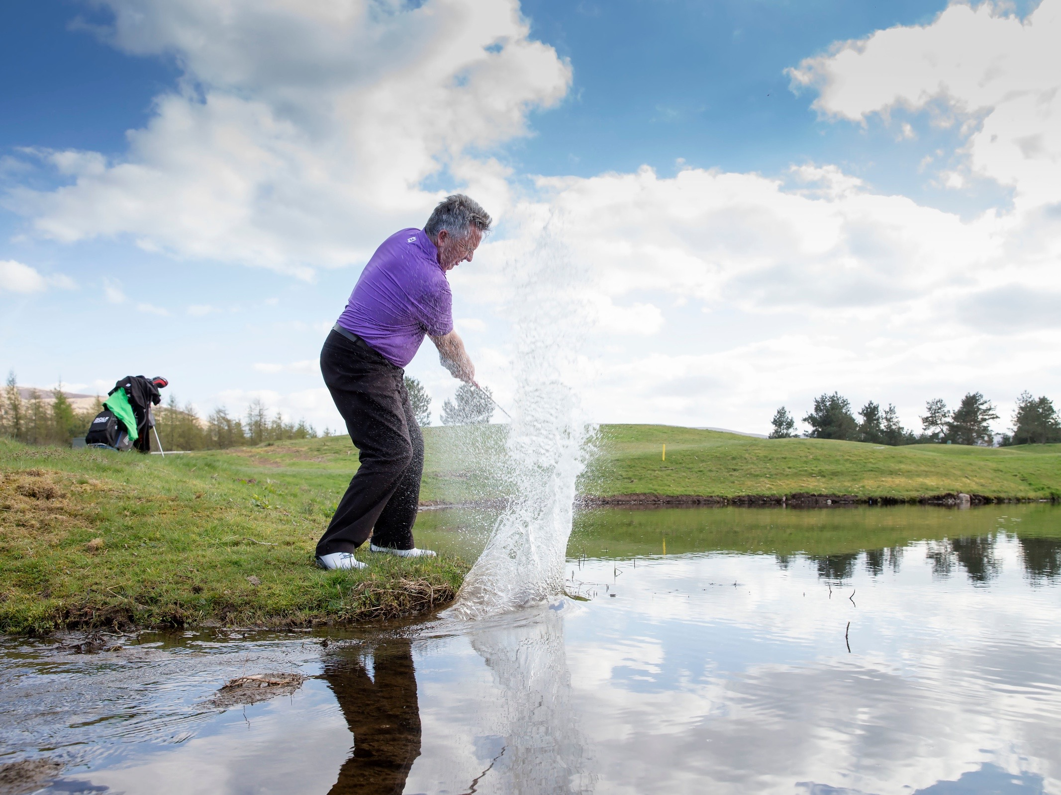 when to play from the water golf monthly