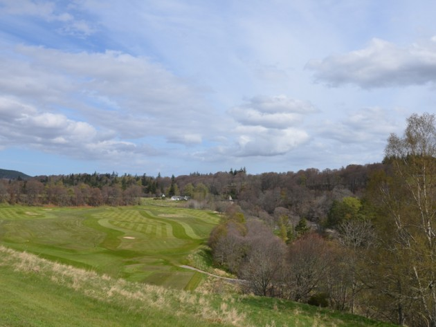 Ballindalloch Castle Course View
