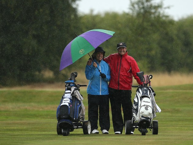 Image result for golf in the rain