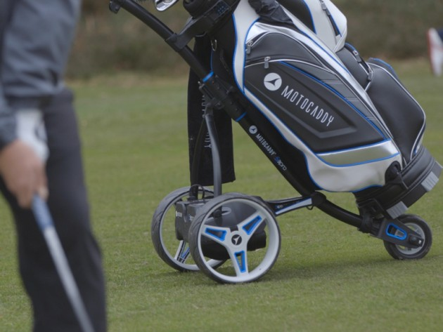 Motocaddy S3 Pro Trolley review - Golf Monthly