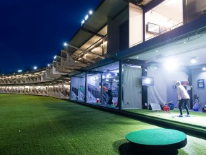 Golf through the day and on into the night at World of Golf London