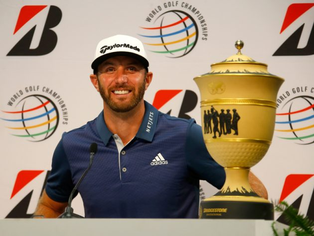 Dustin Johnson wins WGC-Bridgestone Invitational