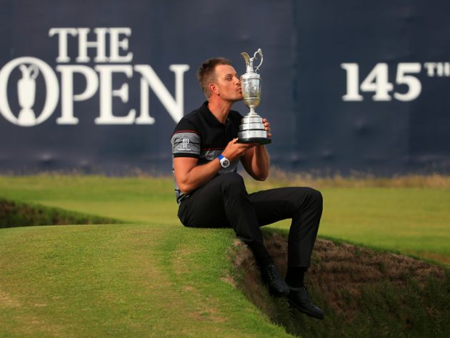 Stensons wins first major