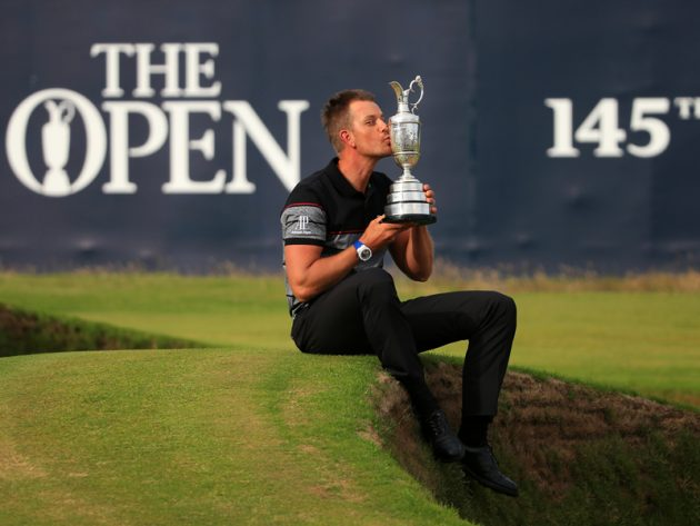 Henrik Stenson Open champion Henrik Stenson wins golf writers trophy