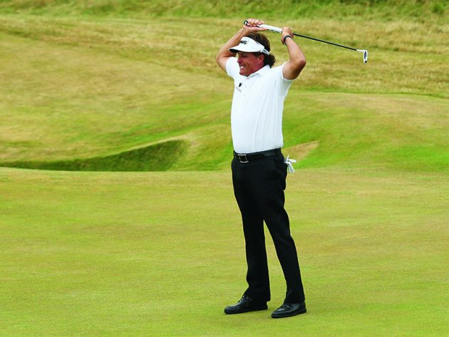 Phil Mickelson how to win The Open