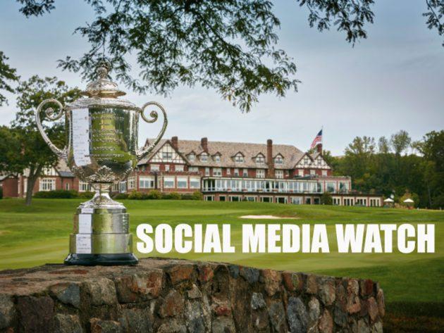 USPGA Championship social media