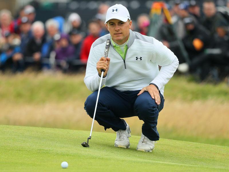 Jordan Spieth wearing at the Open